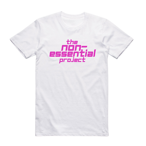 The NE Project White Tee