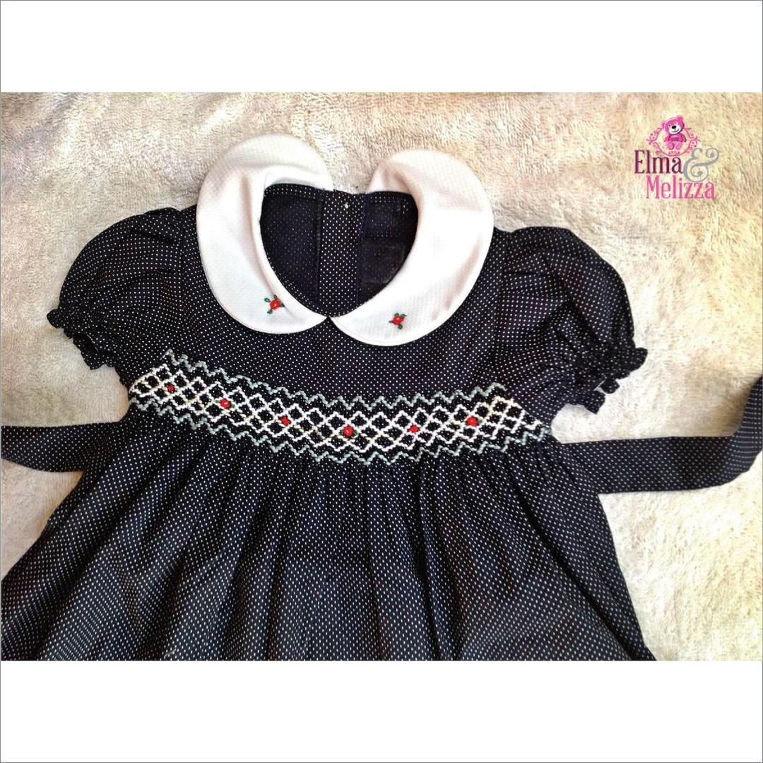 Girls smocked bodice dress.jpg