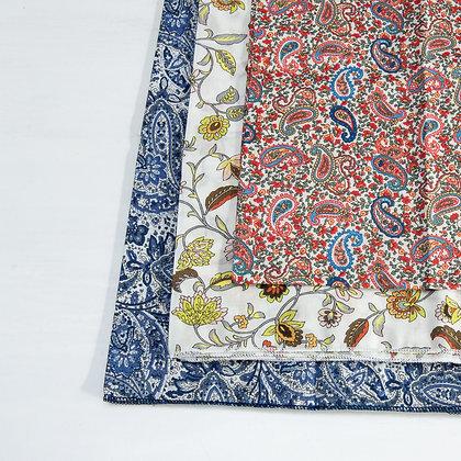 Cotton scarves square