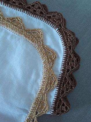Crochet edging PDF pattern - Zig zag