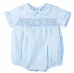 Pleated boys bubble suit