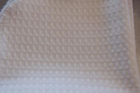 Cotton Waffle fabric per metre