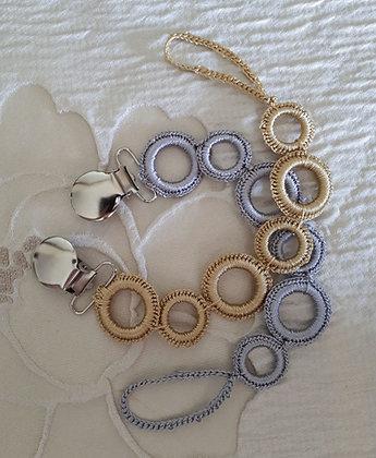 Crochet ring Dummy chain