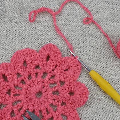 Steel crochet hook