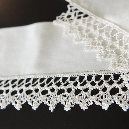 Polyester hemstitched shawl - Drapesy