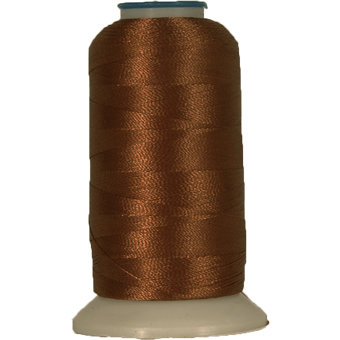 Machine Embroidery Thread Browns