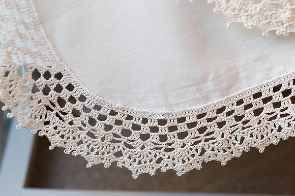 Queens Necklace crochet border