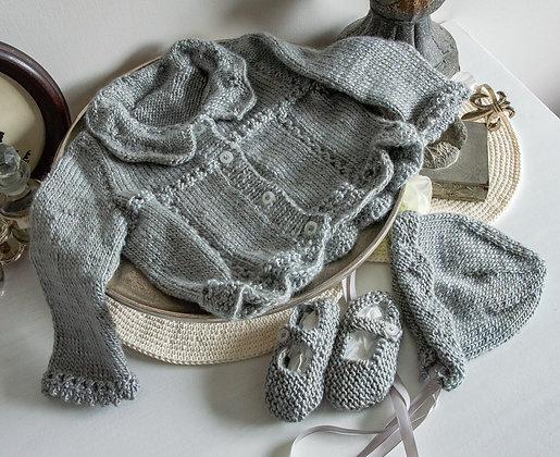 Beautiful soft knitted set 6-9m