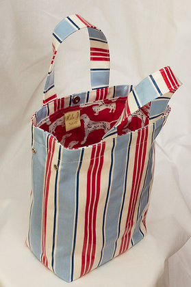 Oilcloth Toy Bag