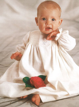 Scarlett May baby gown