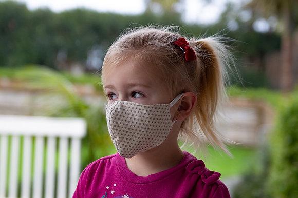 Printed fabric filter pocket facemask