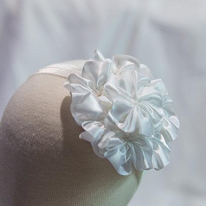 Rosette Ribbon Headband
