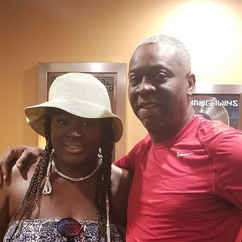 I love my clients! Comedian Sweet Baby K