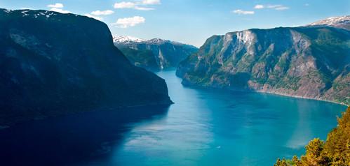 Utsikt fra Skjerdal