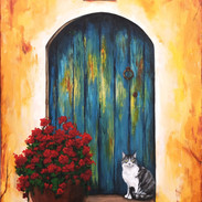 """""""Ella and the Turquoise Door """""""