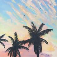 """Palms at Sunset"""