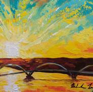 """JK Bridge Sunrise"""