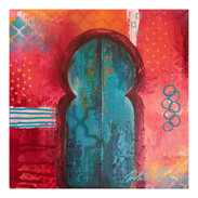 """""""Morrocan Door Composition #1"""""""