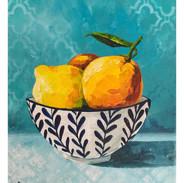 """Citrus on Turquoise"""