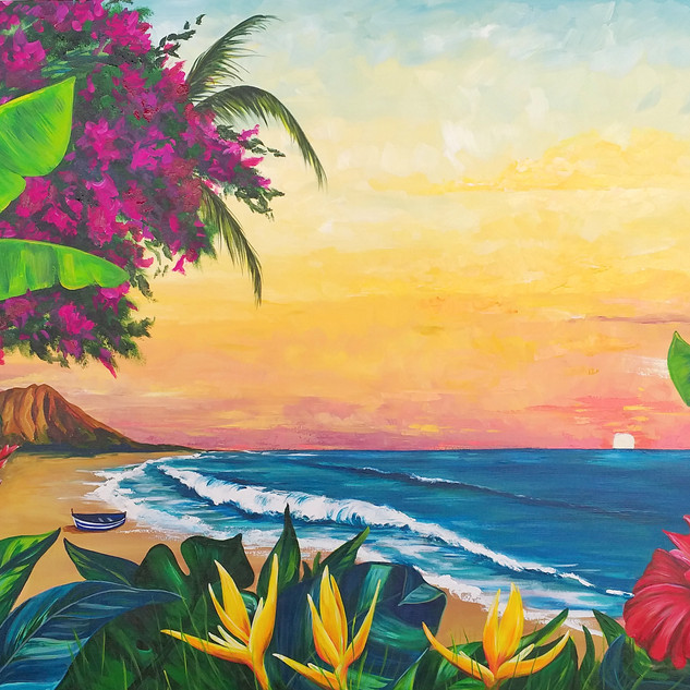 """Hawaiian Sunrise"""
