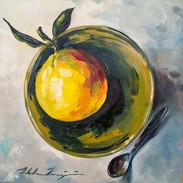 """""""Orange in Green Bowl"""""""