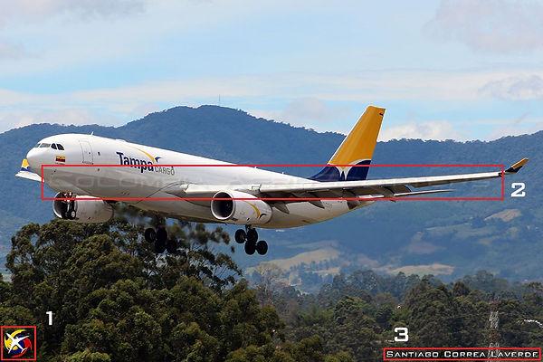 Guía sobre marcas de agua Colombia AeroSpotters