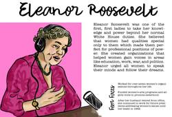Feminists: Eleanor Roosevelt