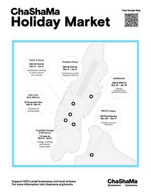 Holiday Market Map