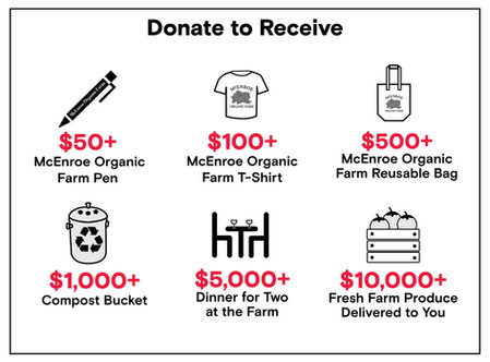 Donation Tiers