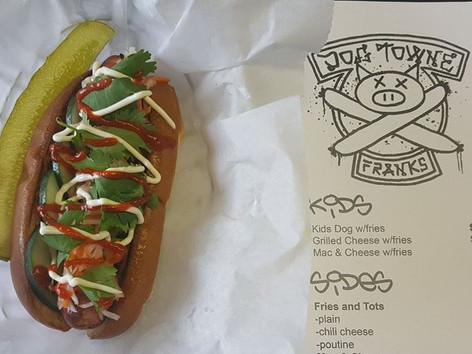 Our take on the Banh Mi sandwich.