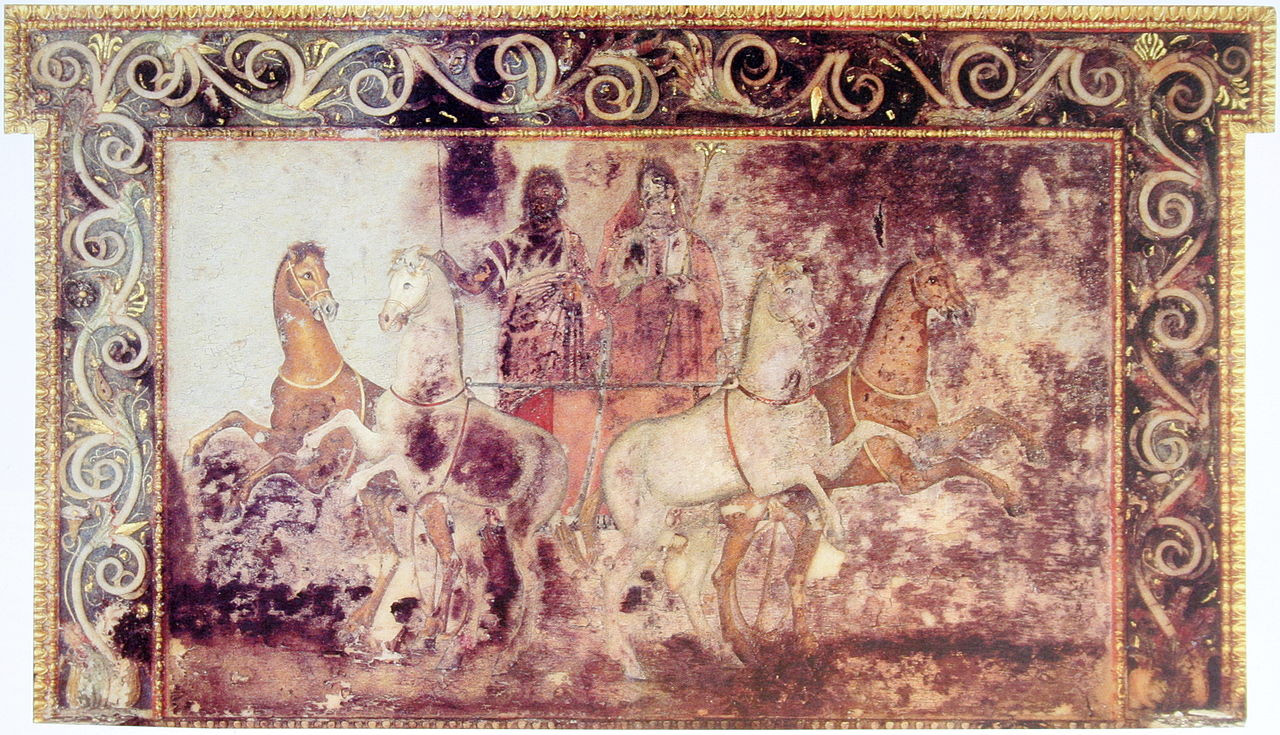 Hades and_Persephone, Vergina