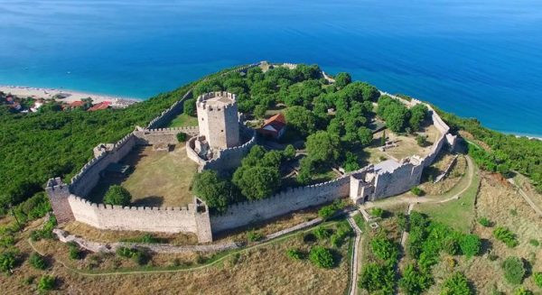 PANORAMIC VIEW OF CASTLE OF PLATAMON