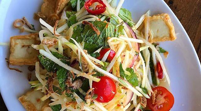 Try our refreshing tofu salad 🥗 Visit u