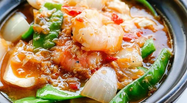 Chilli Prawn for the rainy week 😋__TRY