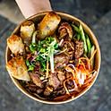 Grilled Pork & Spring Roll Vermicelli Salad