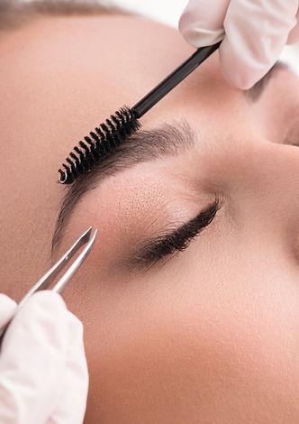 Eyebrow Plucking