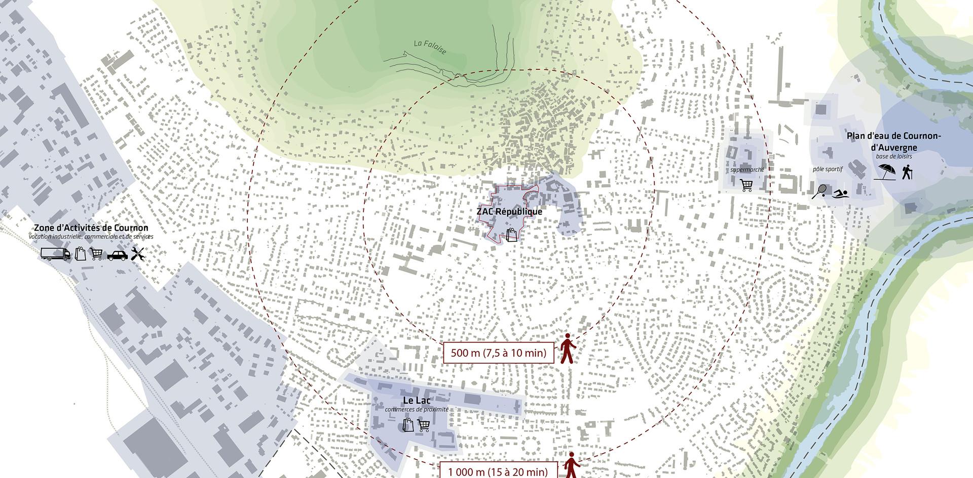 Carte contextuelle