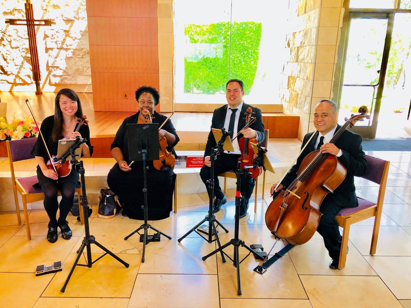 Wedding String Quartet | String Quartet Wedding Southern California Ocdamia Music Group Llc