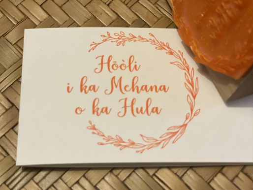 Hōòli I Ka Mehana O Ka Hula