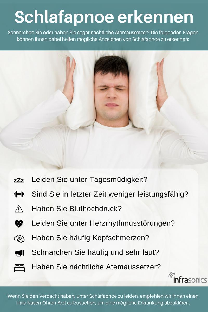 Schlafapnoe erkennen