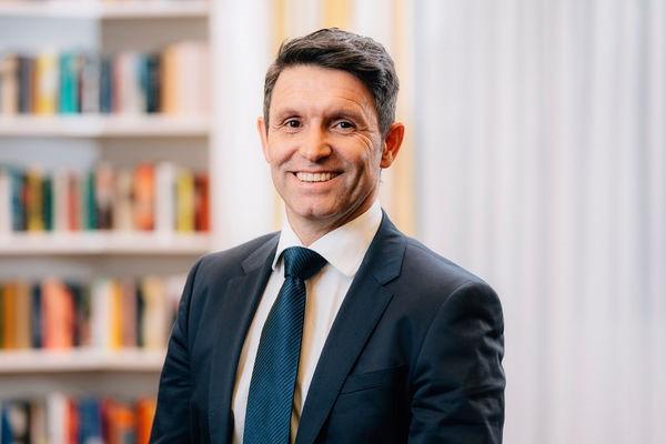 Pflegeverbandschef Stephan Baumann beteiligt sich bei bei Infrasonics