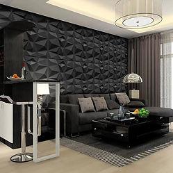panel negro decorativo cdmx