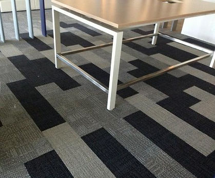 alfombra modular tipo duela df