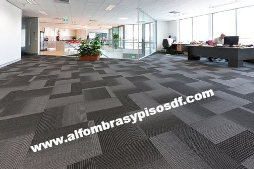 alfombra modular para oficinas df