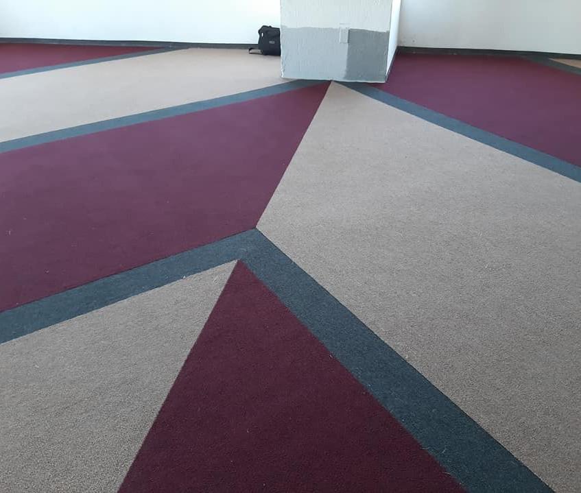 alfombra de uso rudo para oficinas