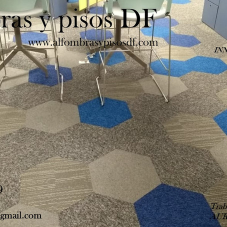 ALFOMBRA MODULAR DF               (diseño hexagonal)