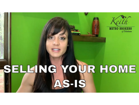Selling Your Home As-Is