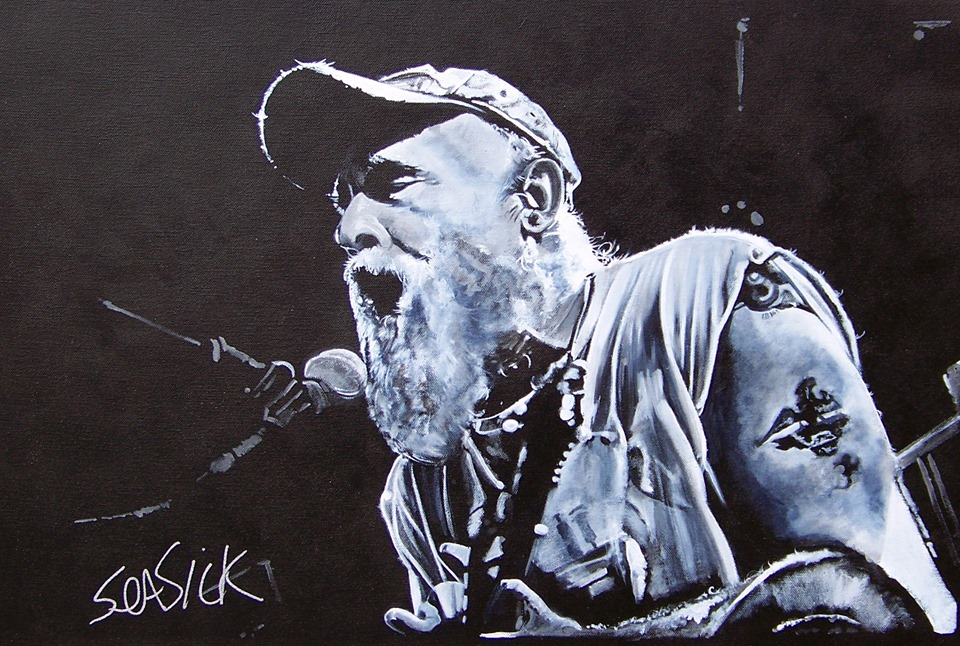 Seasick Steve artwork