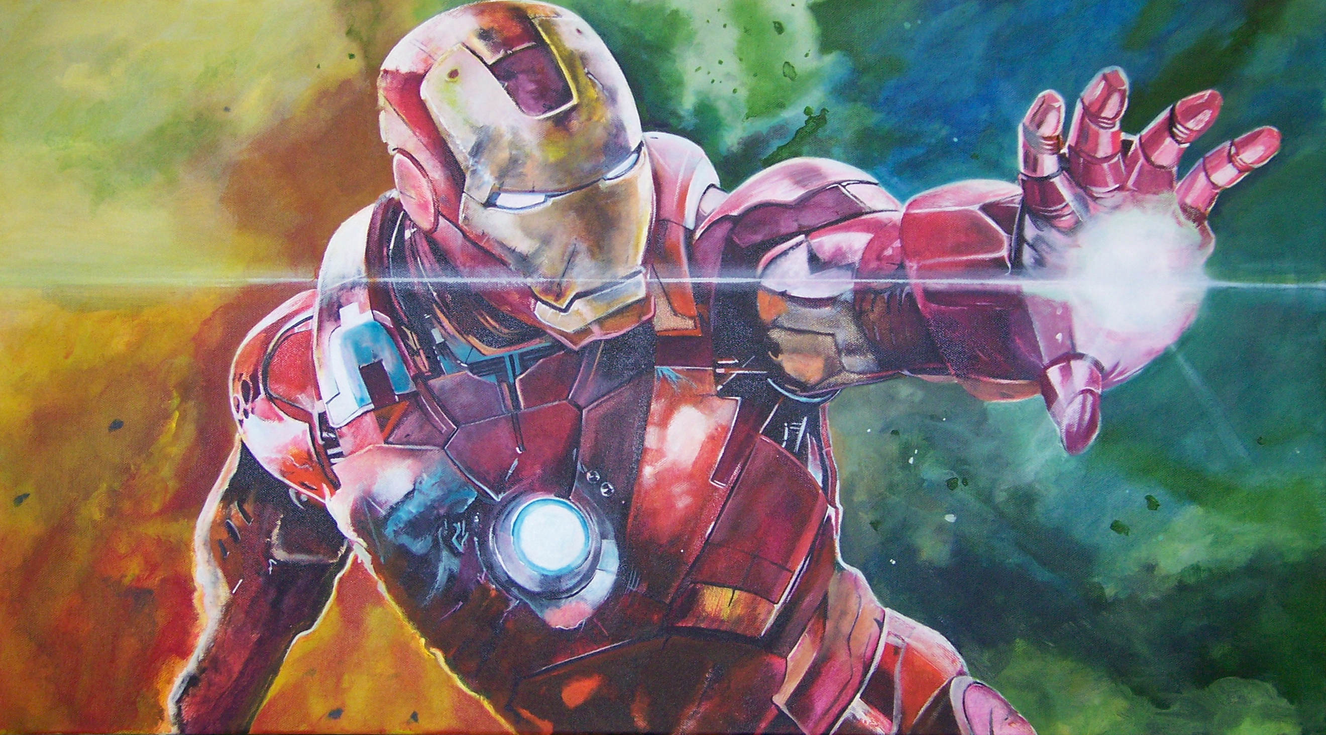 Ironman Painting