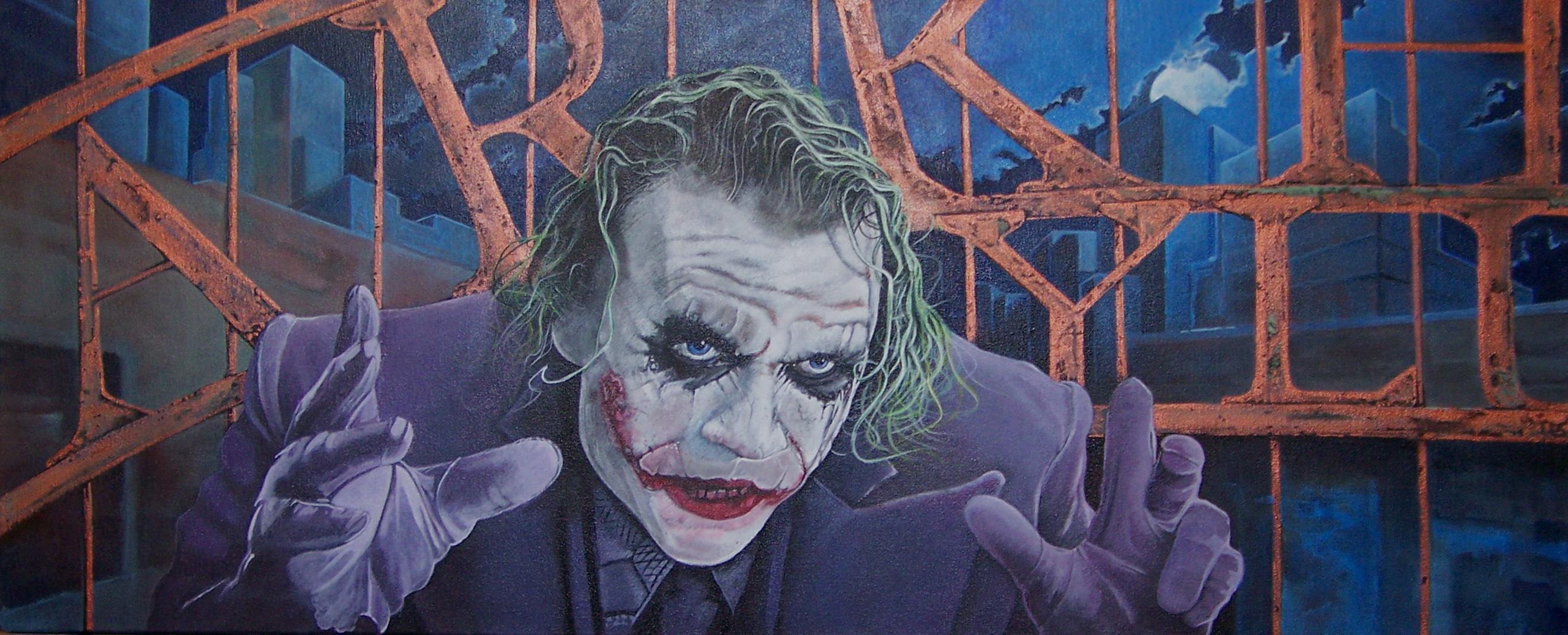 The Joker . Mr Ledger R.I.P